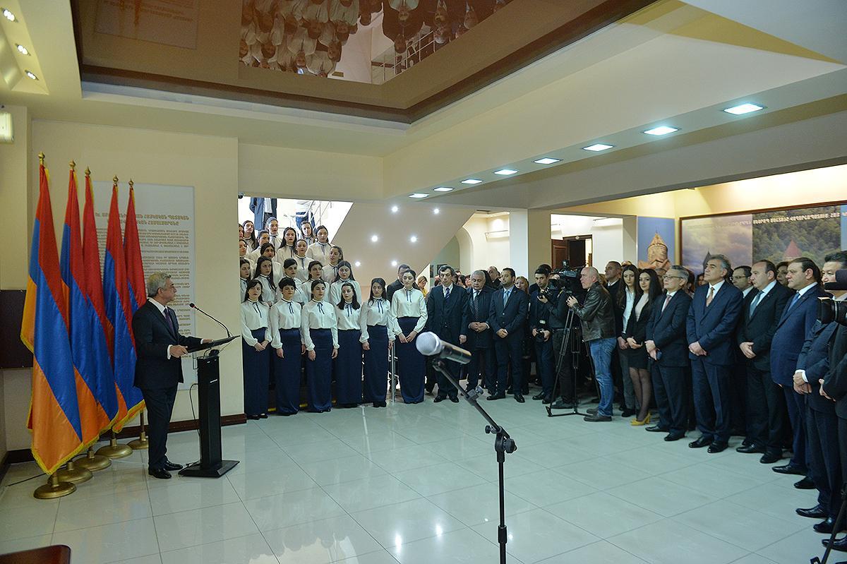 ՀՀ նախագահը մասնակցեց ՀՊՄՀ-ի հիմնադրման 95-ամյակին նվիրված հոբելյանական միջոցառմանը