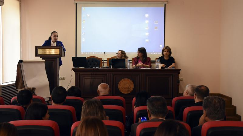 Russian experience of working with persons with sensory and multisensory impairments was presented at ASPU
