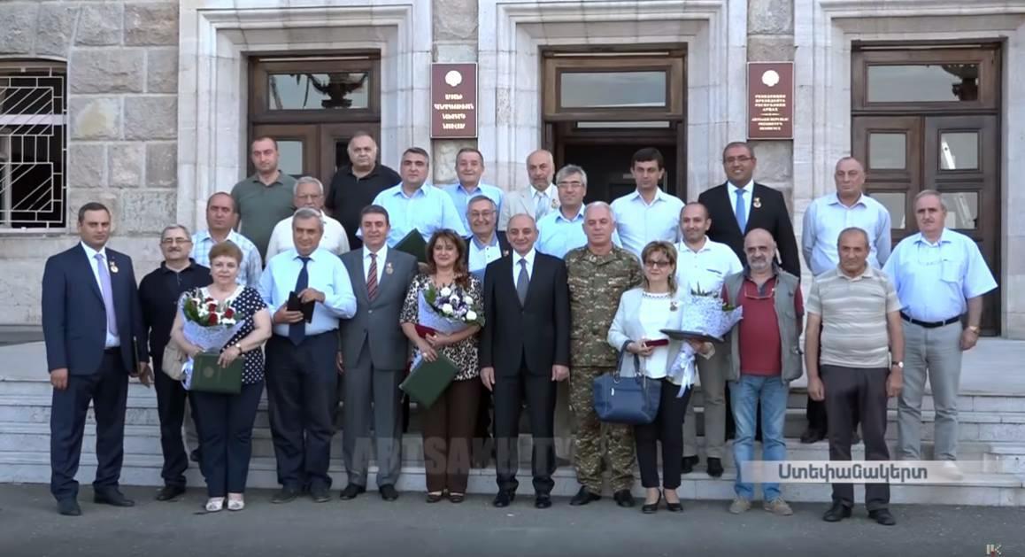 ԼՂՀ «Երախտագիտություն» մեդալ ՝ ՀՊՄՀ-ի դասախոսներին
