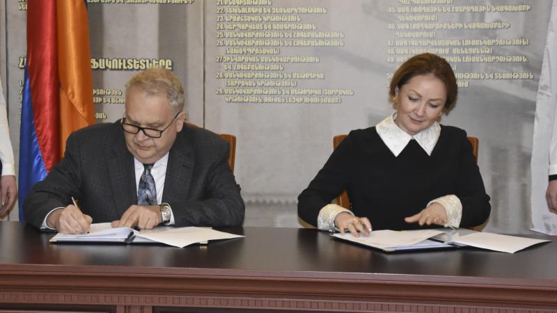 Նոր համագործակցություն Ա. Ս. Պուշկինի անվան ռուսաց լեզվի պետական ինստիտուտի հետ