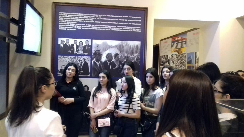 Փորձարարական դաս ՀՊՄՀ-ի թանգարանում