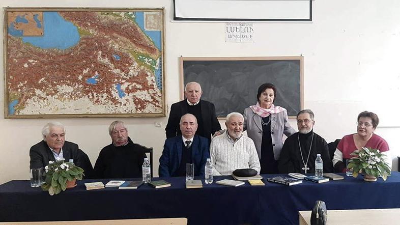 Հանդիպում Գրողների միության անդամների հետ
