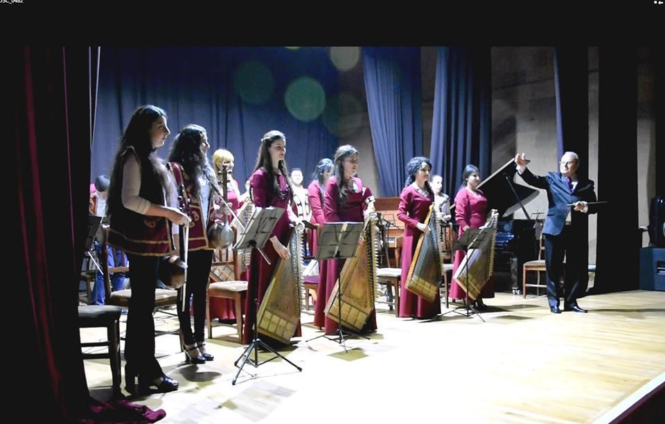 Բեմում էին ՀՊՄՀ-ի Երաժշտության բաժնի ուսանողները