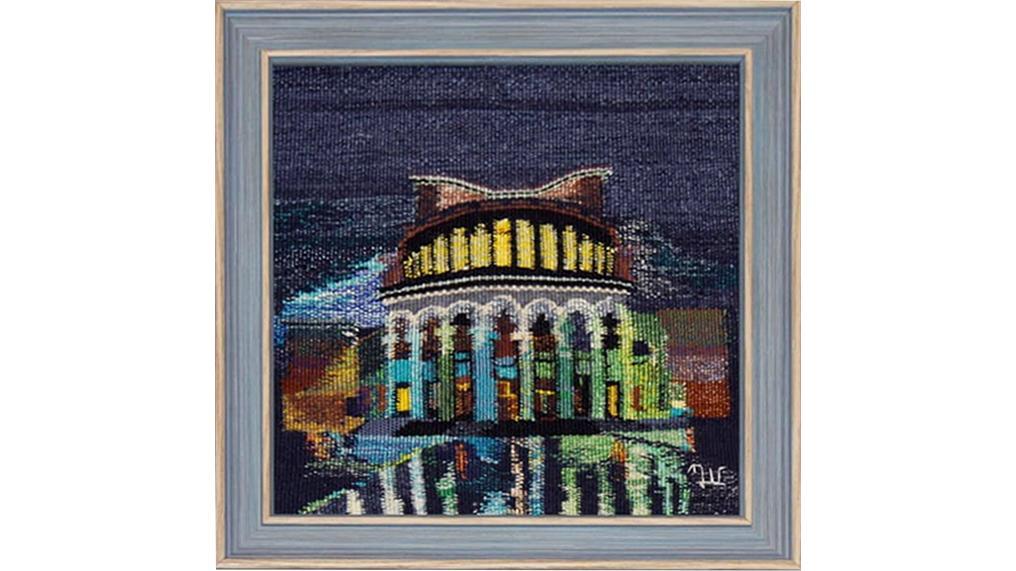 Ночной Ереван на международной выставке