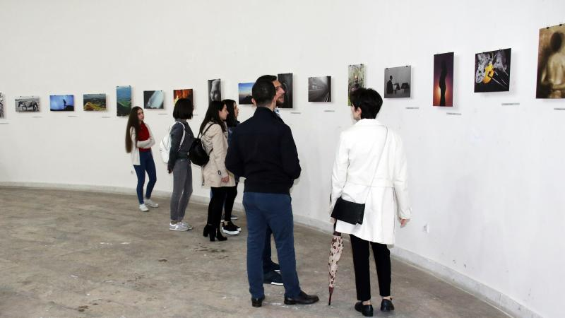 Student photography exhibition opens in Yerevan