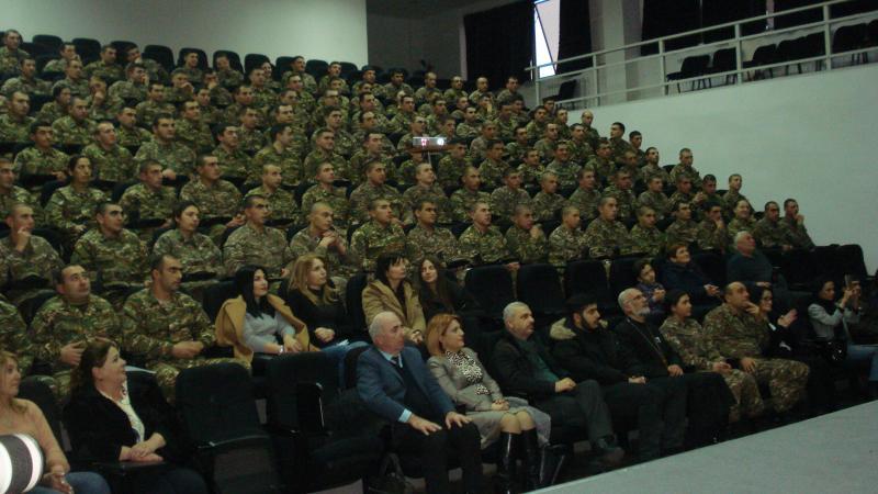 Այցելեցին Վազգեն Սարգսյանի անվան ռազմական համալսարան