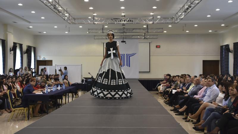 Կայացավ Հագուստի մոդելավորման բաժնի ավարտական աշխատանքների ցուցադրությունը
