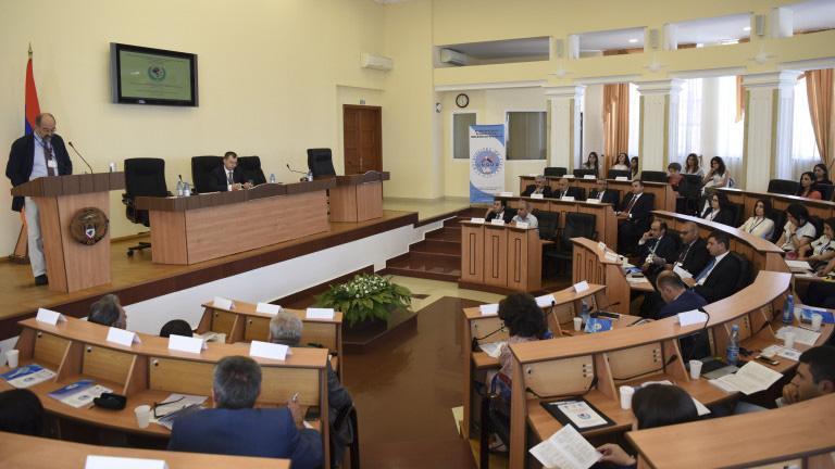 Աբովյանականները մասնակցեցին երիտասարդական գիտաժողովի