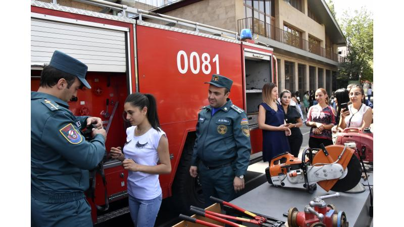 Fire Drills at the Pedagogical University