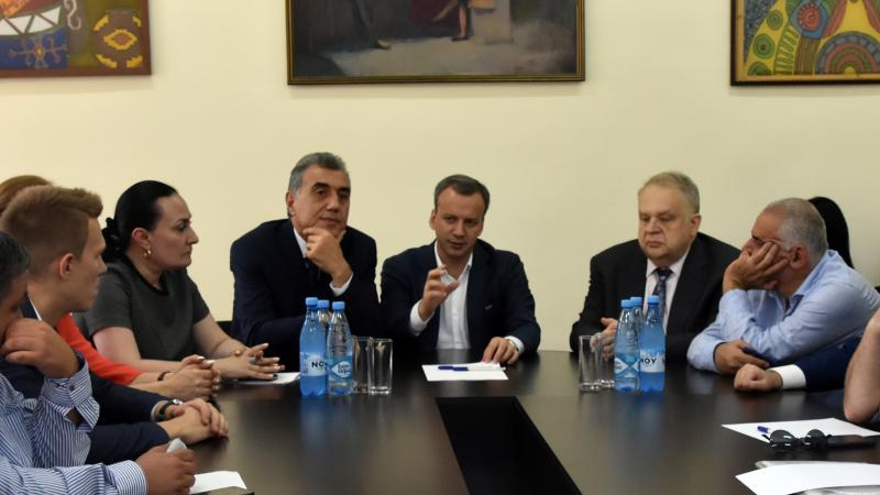 ASPU Hosts Candidate for FIDE President Arkady Dvorkovich