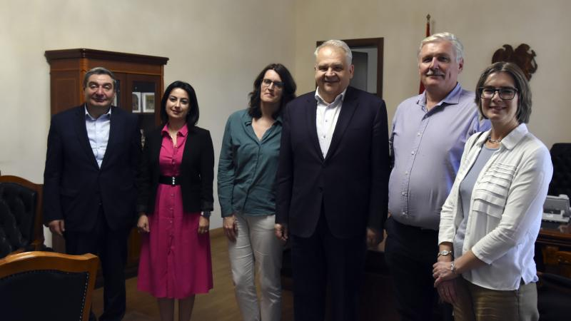 """Meetings within the Scope of the Project on """"Promoting Internationalisation of Universities"""""""