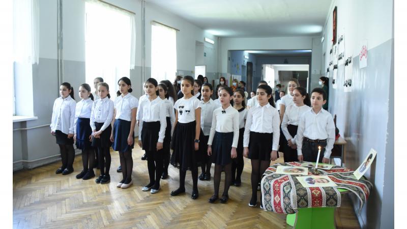 """""""Теглеряны нашего времени"""": мероприятие в основной школе АГПУ"""