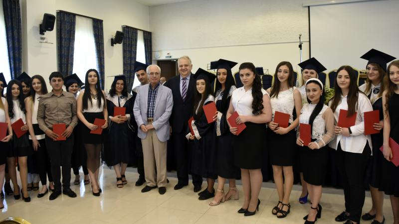 Graduation Certificates to 2416 ASPU Students