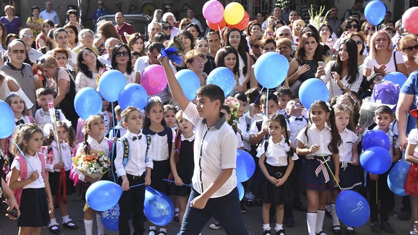 Գիտելիքի օրը տոնեցին նաև ՀՊՄՀ-ի հիմնական դպրոցում