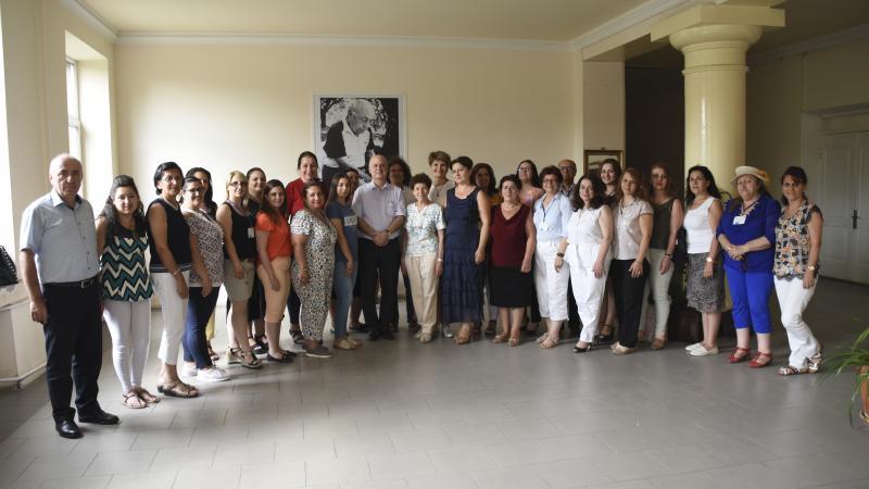 Հանդիպում Լեզվի կոմիտեի և ՀՊՄՀ-ի Խորհրդի նախագահ Դավիթ Գյուրջինյանի հետ