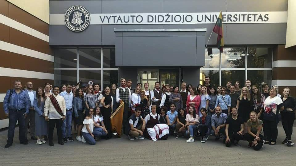 """""""Summer School"""" at the Lithuania University of Educational Sciences"""