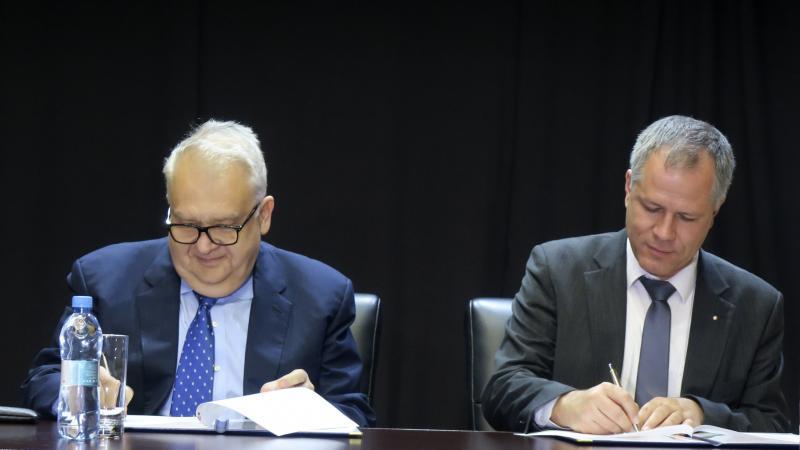 ASPU and University of South Bohemia sign Memorandum of Understanding