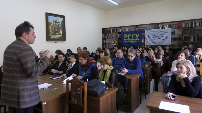 Վարպետաց դասեր՝ ռուս գործընկերներից