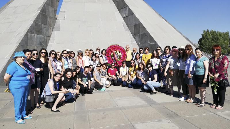 Սփյուռքահայ ուսուցիչներն այցելեցին Հայոց ցեղասպանության զոհերի հուշահամալիր