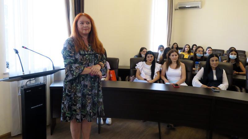 Нейрологопед из Польши Марлена Пуховская посетила педагогический
