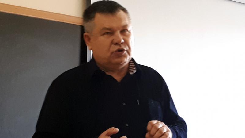 Դասախոսություն ուկրաինացի դոկտոր Եվգենի Լոդատկոյից