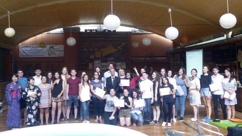Մասնակցեցին Հունգարիայի «Ամառային դպրոց»-ին