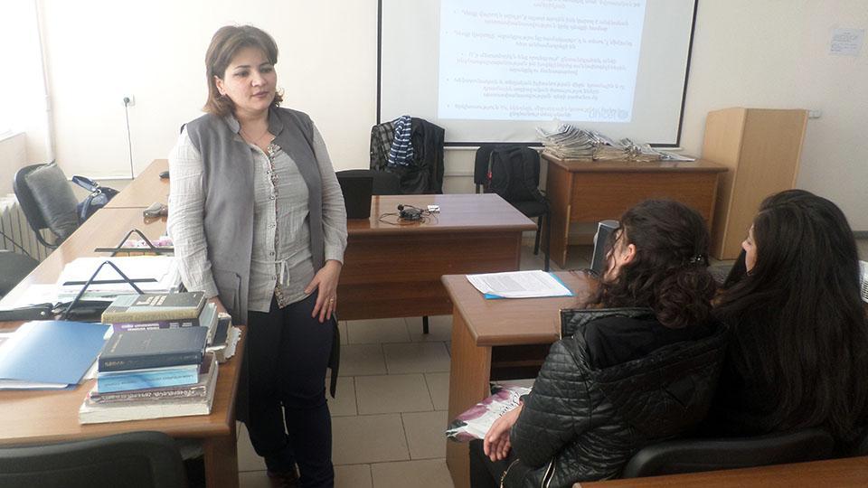 Սոցիալական ծառայությունները՝ ուսանողների քննարկման առանցքում