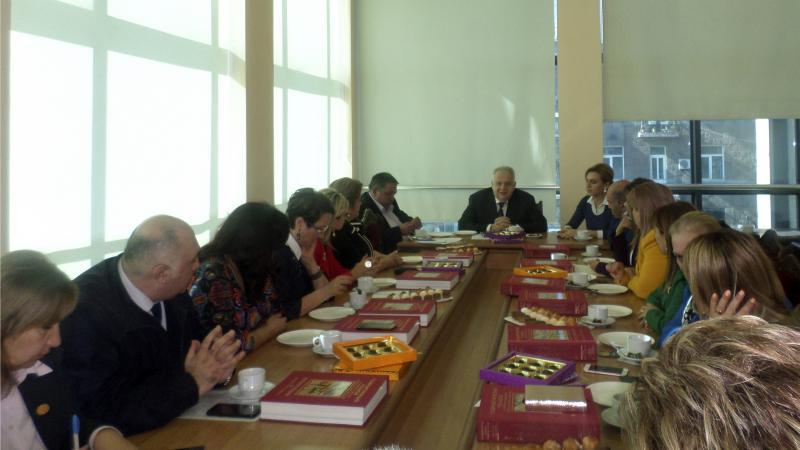 Meeting School Directors