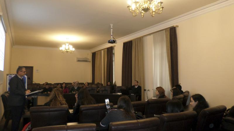 Seminar dedicated to World Philosophy Day held at ASPU
