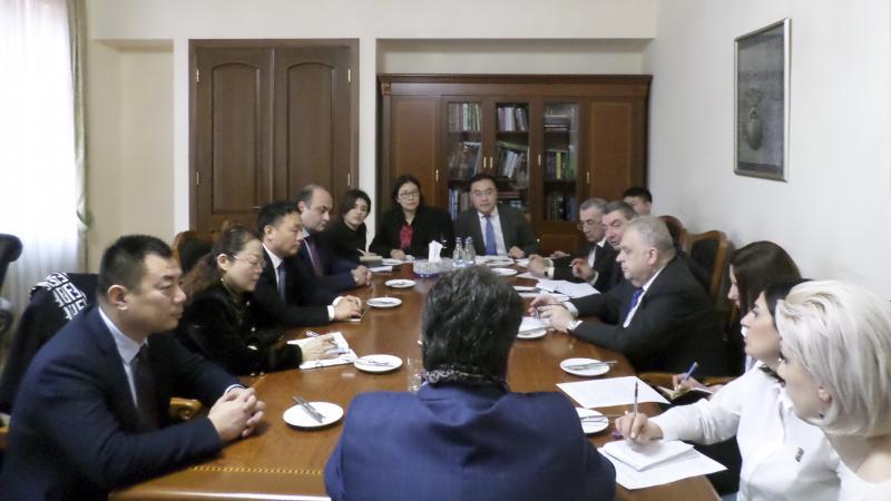 Քննարկվեցին հայ-չինական նախագծի հետագա անելիքները