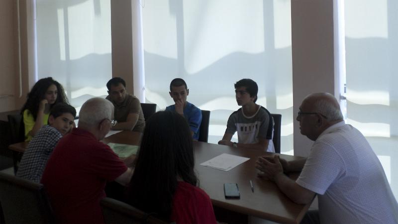 Մանկավարժականում էին «Մխիթար Սեբաստացի» կրթահամալիրի սաները