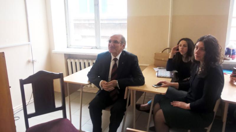 Բանասերների հյուրն էր Համբարձում Մարտիրոսյանը