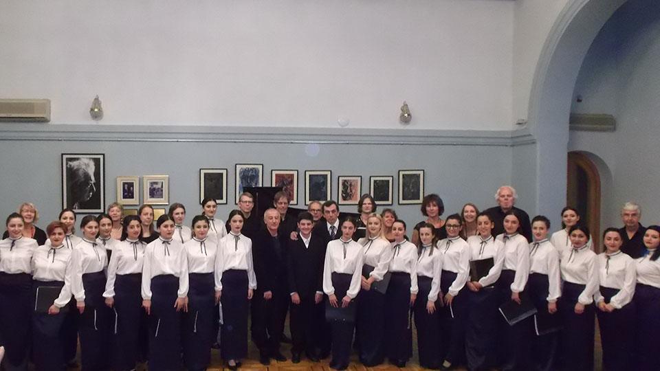 Համագործակցեցին հոլանդական երգչախմբի հետ