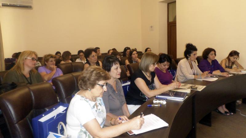 Սփյուռքահայ ուսուցիչների հանդիպումը ՀՊՄՀ-ի ռեկտորի հետ