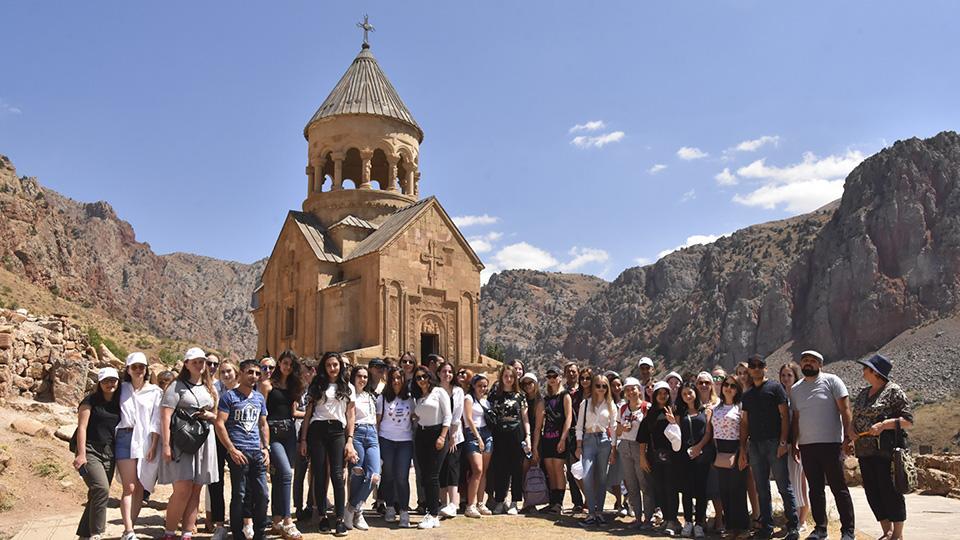 «Ամառային դպրոց 2019»-ի մասնակիցները բացահայտում են Հայաստանը