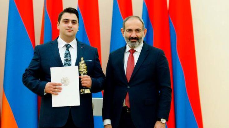 Պետական մրցանակ՝ Մանկավարժականի ուսանողին