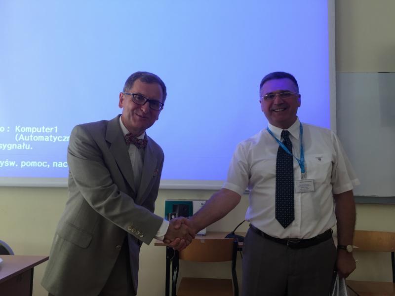 Համագործակցություն Մանկավարժականի և Վարմիայի և Մազուրիի համալսարանների միջև
