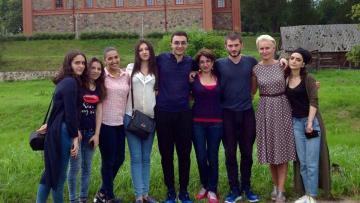 Մանկավարժականի ուսանողները Լիտվայում