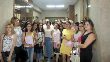 ՀՊՄՀ-ի գրադարանը համալրվեց շուրջ 300 գրքերով