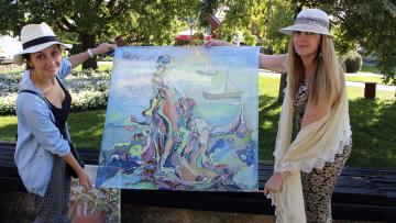 ՀՊՄՀ-ի գեղանկարիչները մասնակցեցին միջազգային պլեների