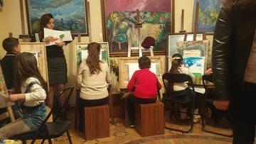 Մանկավարժական պրակտիկա՝ Մուղդուսյան արվեստի կենտրոնում