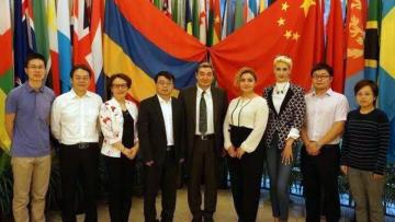 ASPU delegates pay a working visit to the People's Republic of China