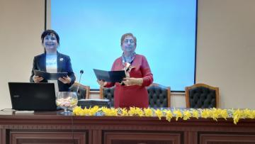 MA Students of the Faculty of Primary Education Receive Diplomas