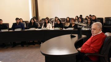 Տարեվերջյան հանդիպում ՀՊՄՀ-ի ուսանողների հետ